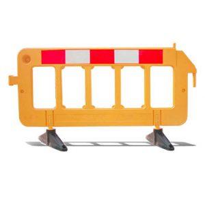 Barra de plastico para trafico premium 2 x 1 amarillo lima peru traxpark