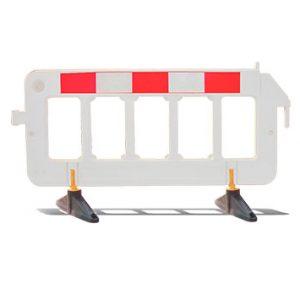 Barra de plastico para trafico premium 2 x 1 blanco lima peru traxpark