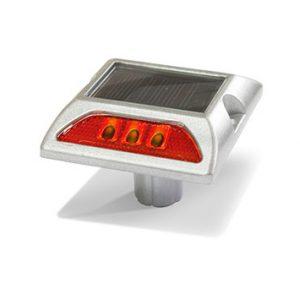 tacha solar 125 x 105 x 78 mm doble led rojo lima peru traxpark