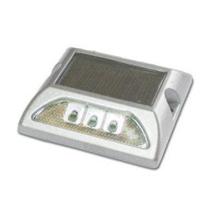 tacha solar sin vastago 125 x 105 x 25 mm doble led blanco lima peru traxpark