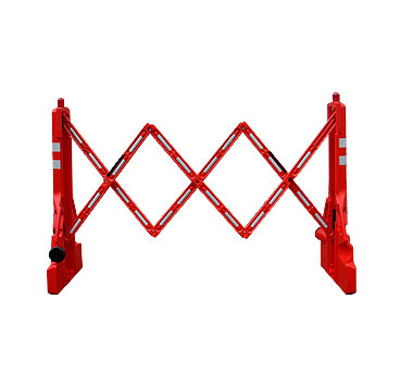 barra de seguridad expandible 2,35 mt x 1,07 cm rojo lima peru traxpark