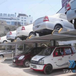 Sistema de elevadores para estacionamiento para autos