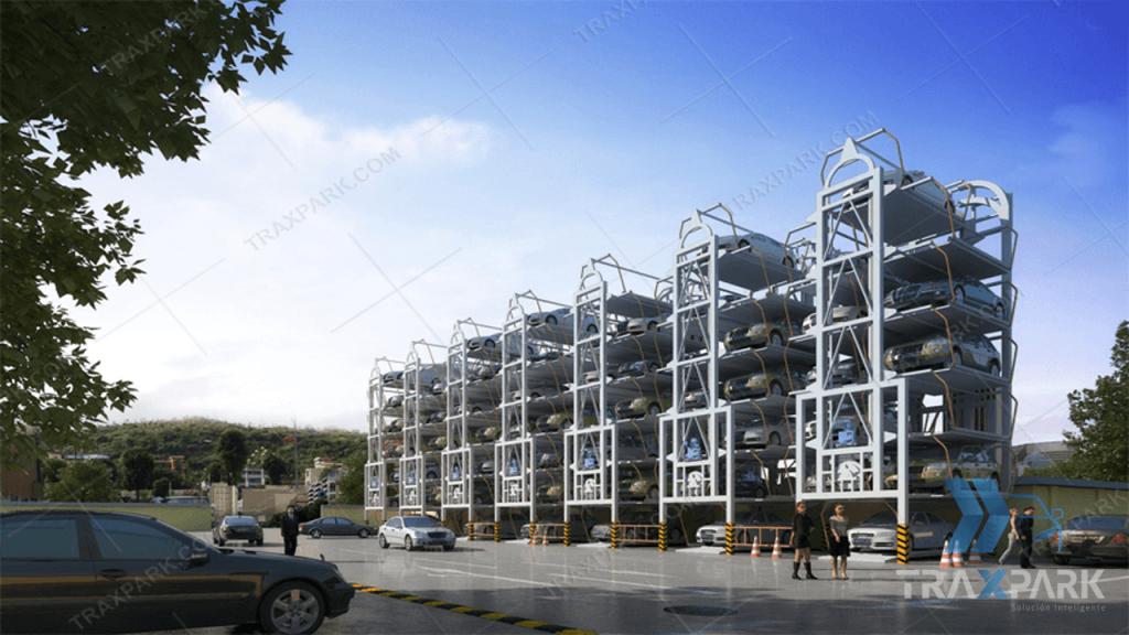 sistema-de-parqueo-automatico-vertical-rotatorio-16-espacios-traxpark-2019