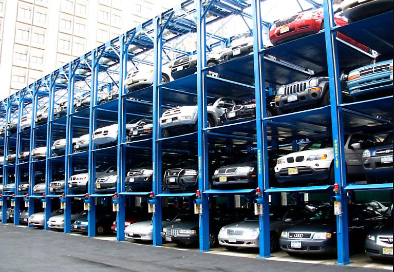 Sistema de estacionamiento Puzzle